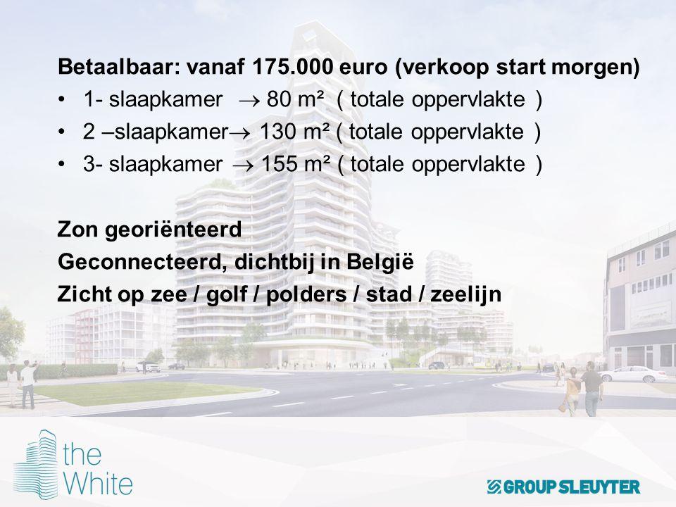totale oppervlakte belgie