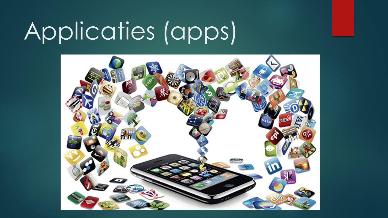 Applicaties (apps)