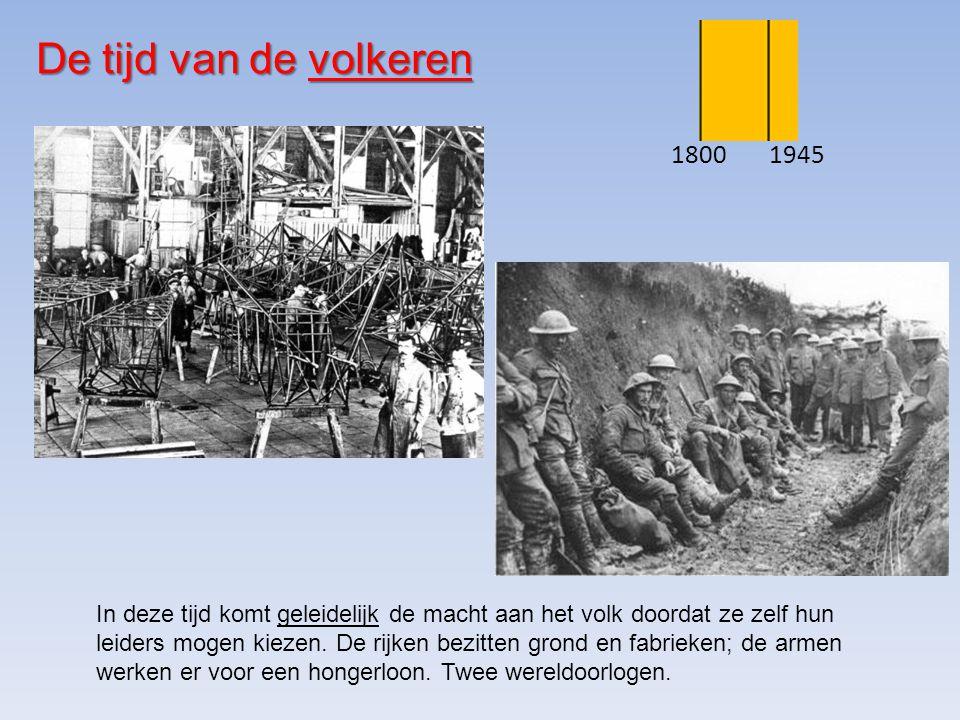 De tijd van de volkeren 1800. 1945.
