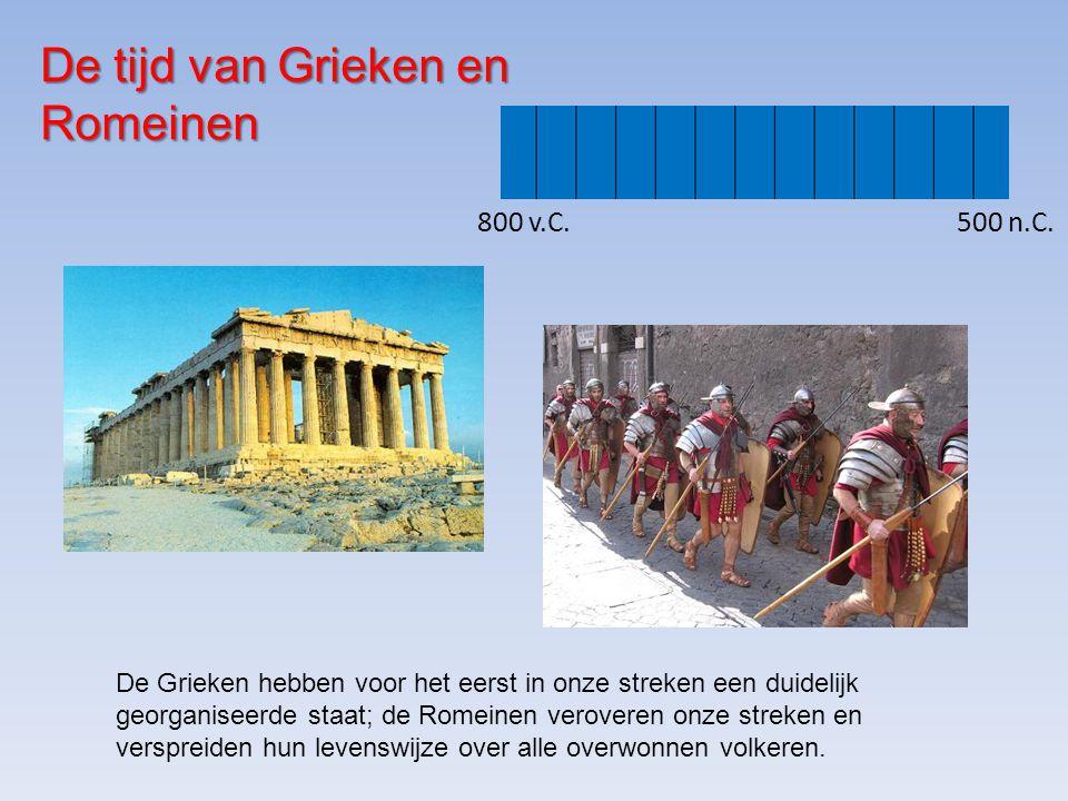 De tijd van Grieken en Romeinen
