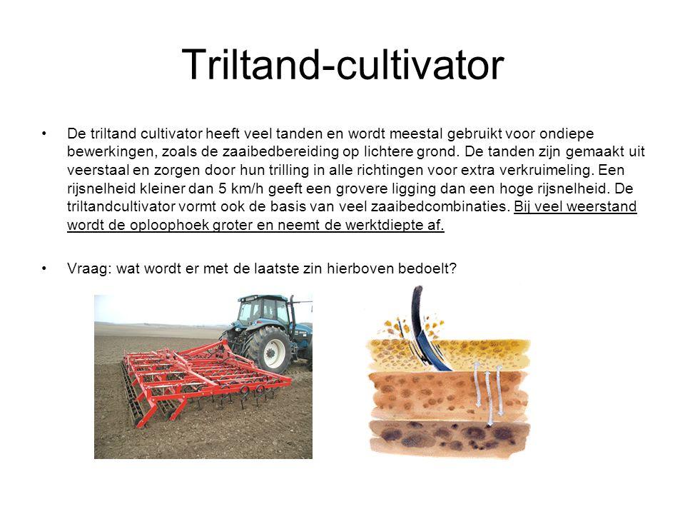 Triltand-cultivator