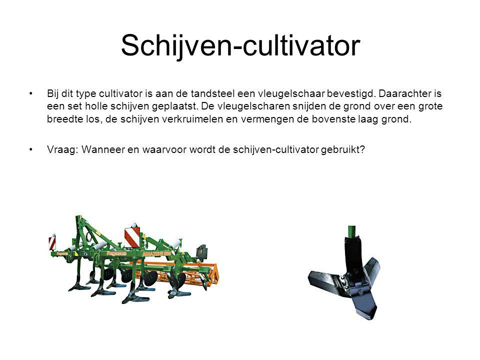 Schijven-cultivator