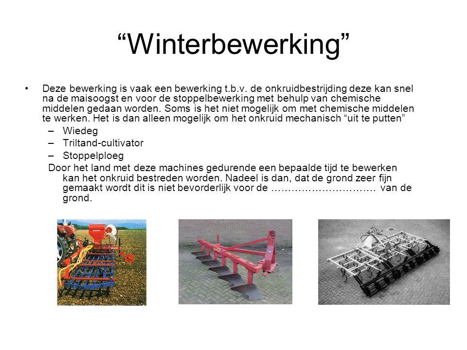 Winterbewerking