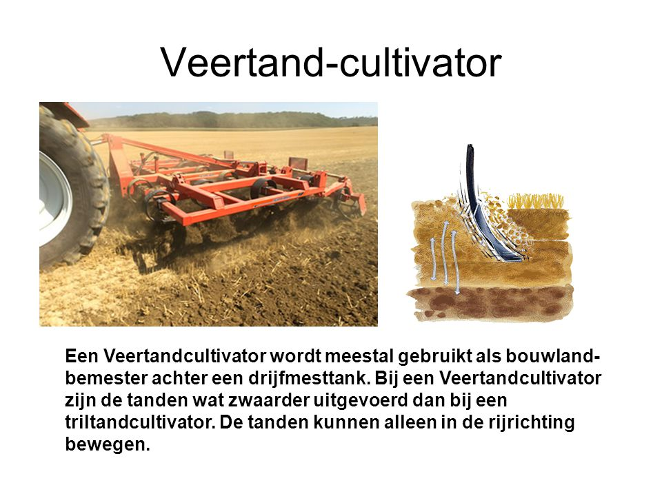 Veertand-cultivator