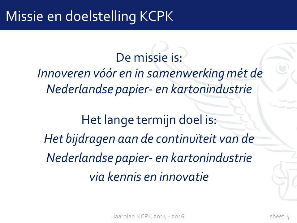 Missie en doelstelling KCPK