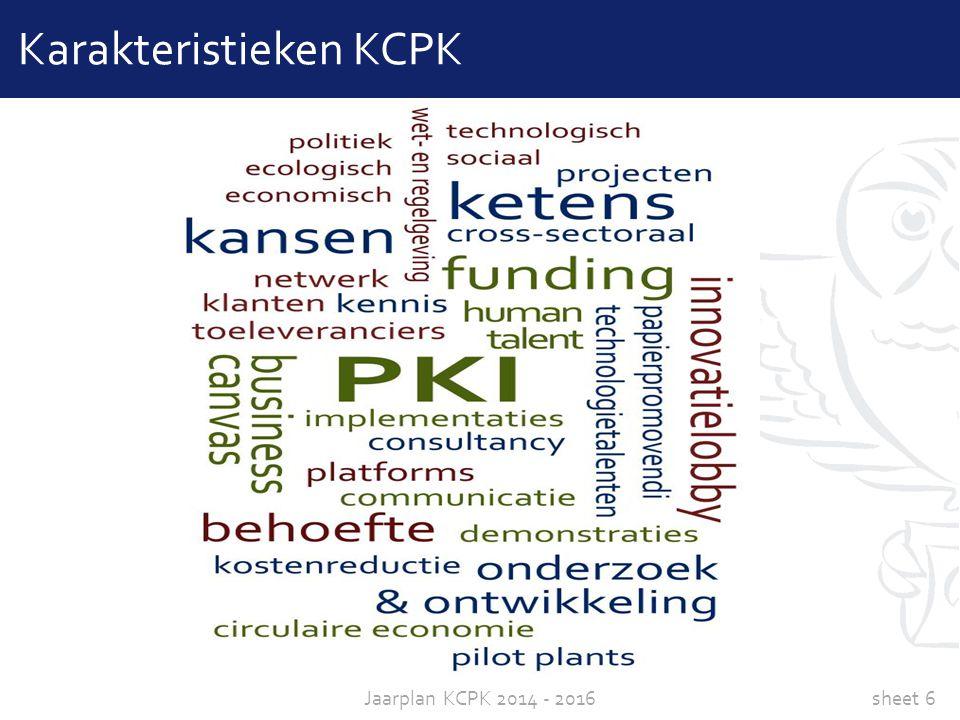 Karakteristieken KCPK