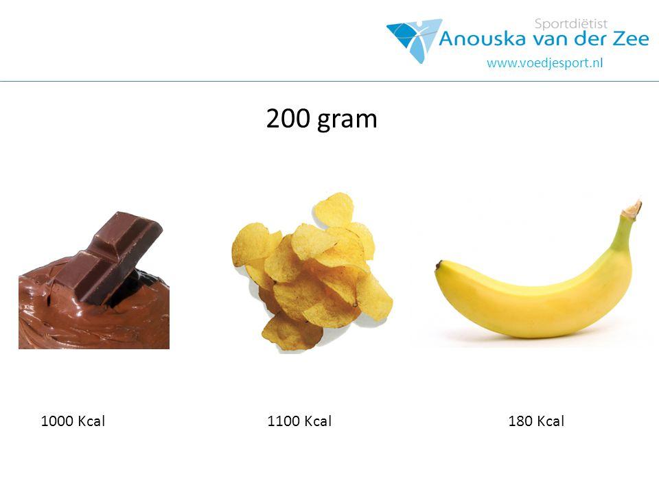 hOOFDSTUK www.voedjesport.nl. 200 gram.