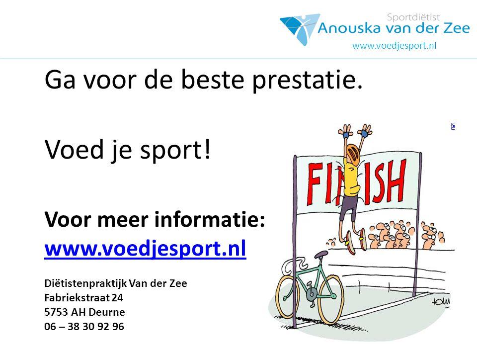 hOOFDSTUK www.voedjesport.nl.