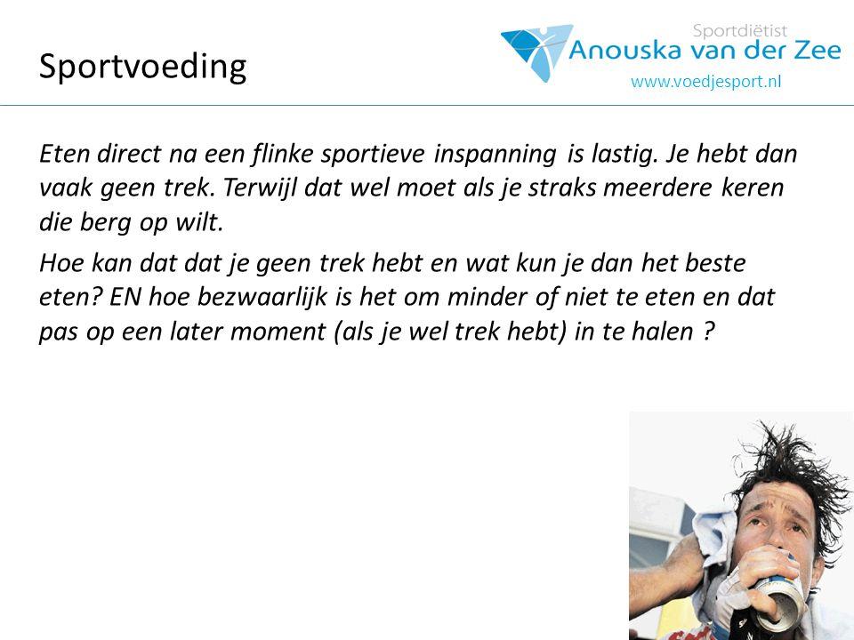 hOOFDSTUK Sportvoeding.