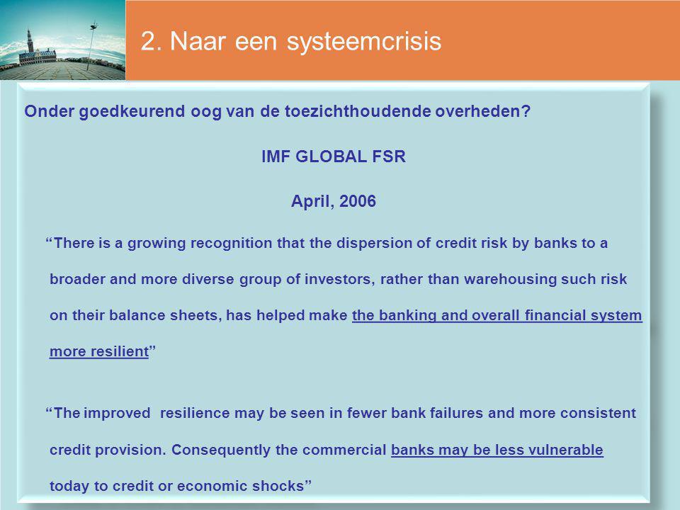 2. Naar een systeemcrisis