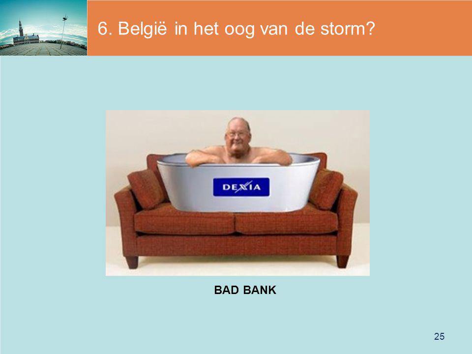 6. België in het oog van de storm