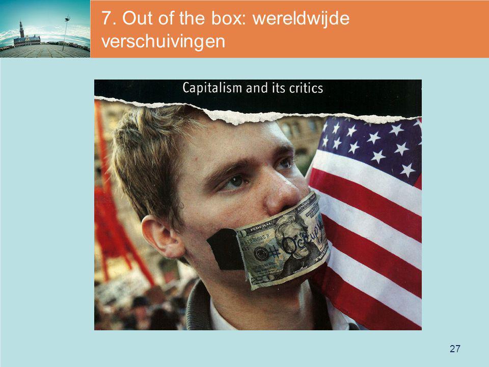 7. Out of the box: wereldwijde verschuivingen