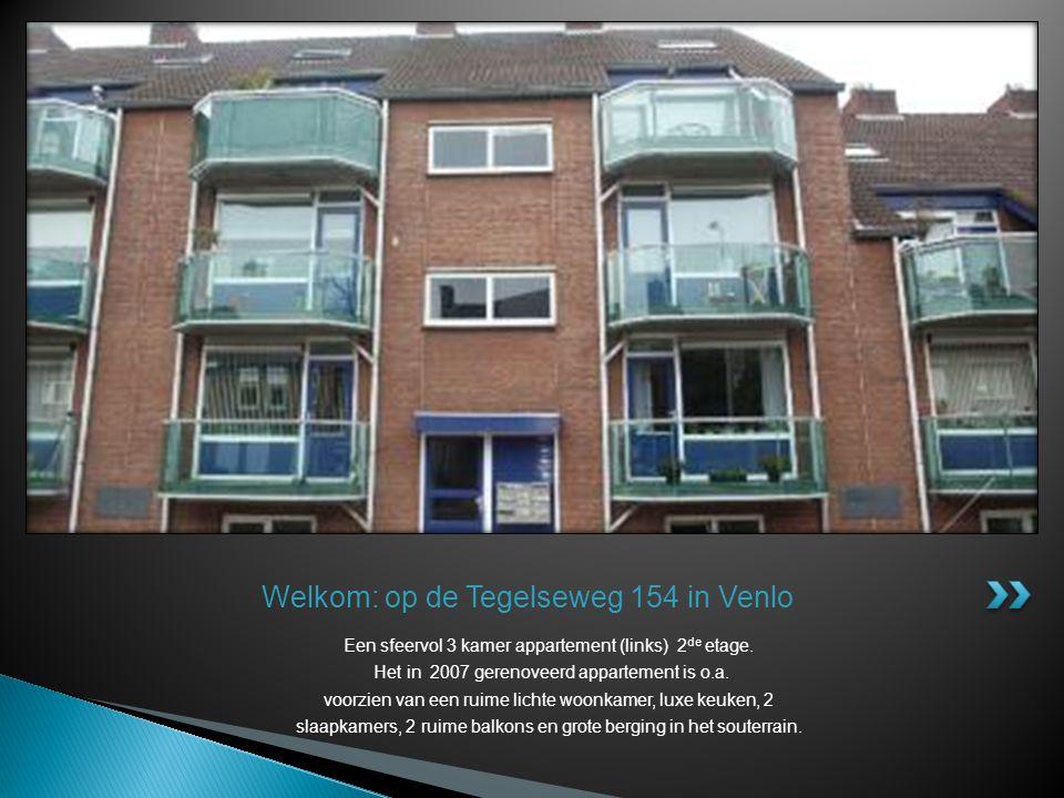 Welkom: op de Tegelseweg 154 in Venlo
