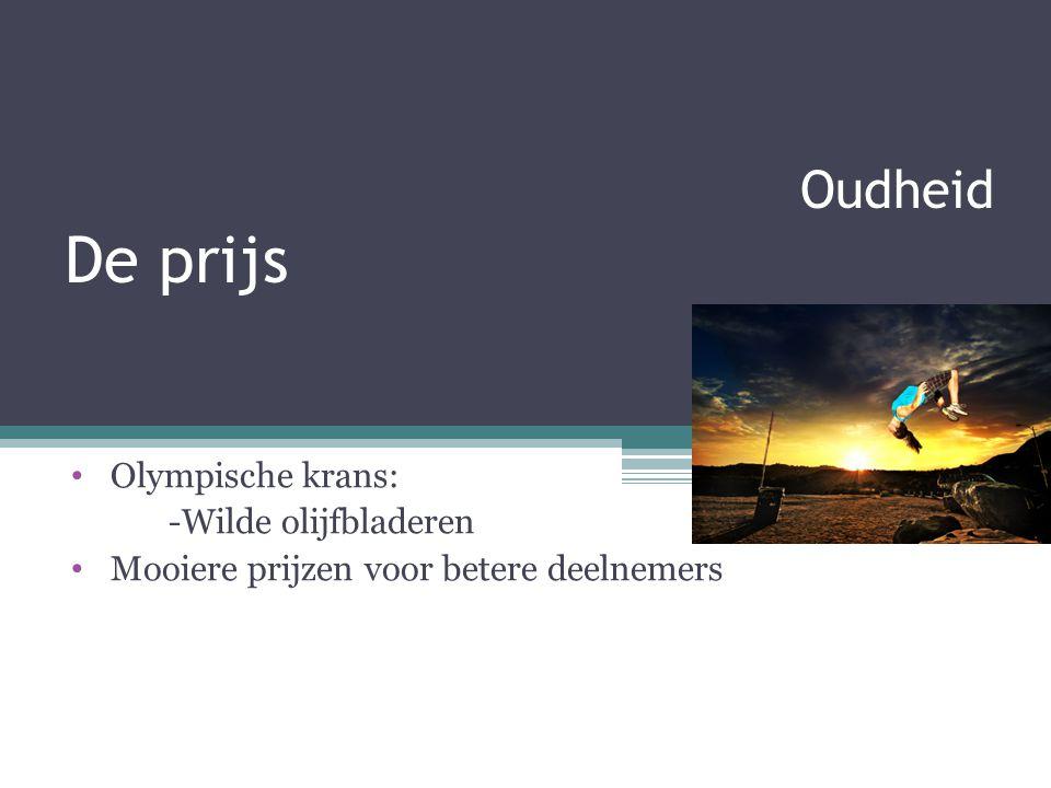 Oudheid De prijs Olympische krans: -Wilde olijfbladeren