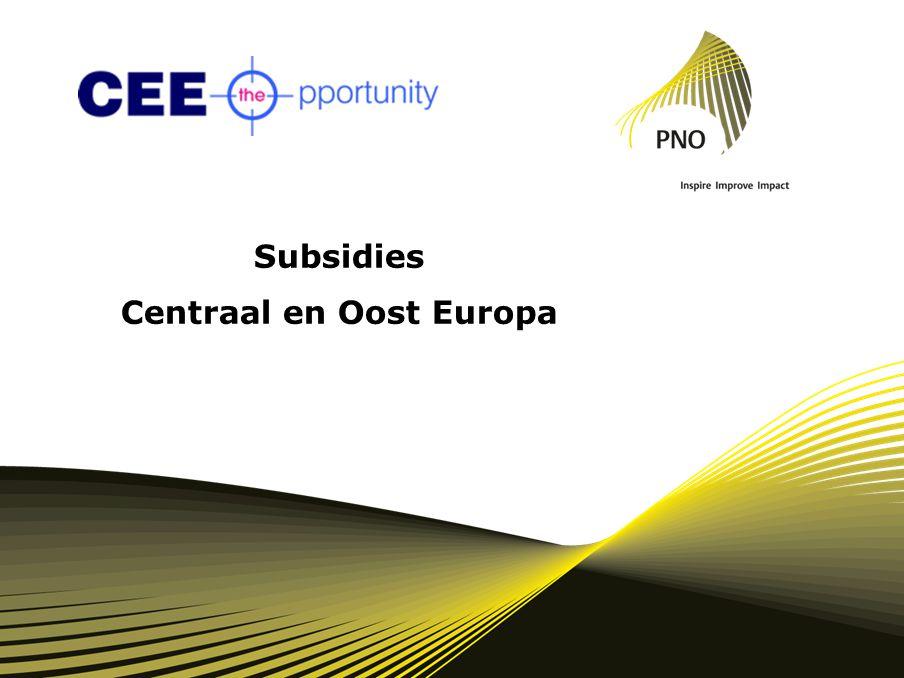 Subsidies Centraal en Oost Europa