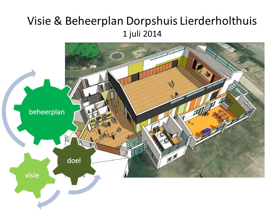 Visie & Beheerplan Dorpshuis Lierderholthuis 1 juli 2014