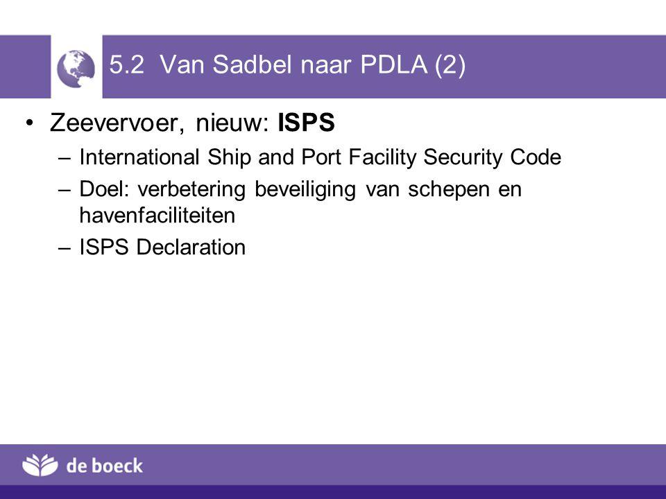 Zeevervoer, nieuw: ISPS