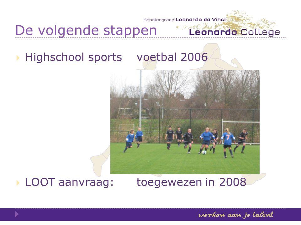 De volgende stappen Highschool sports voetbal 2006