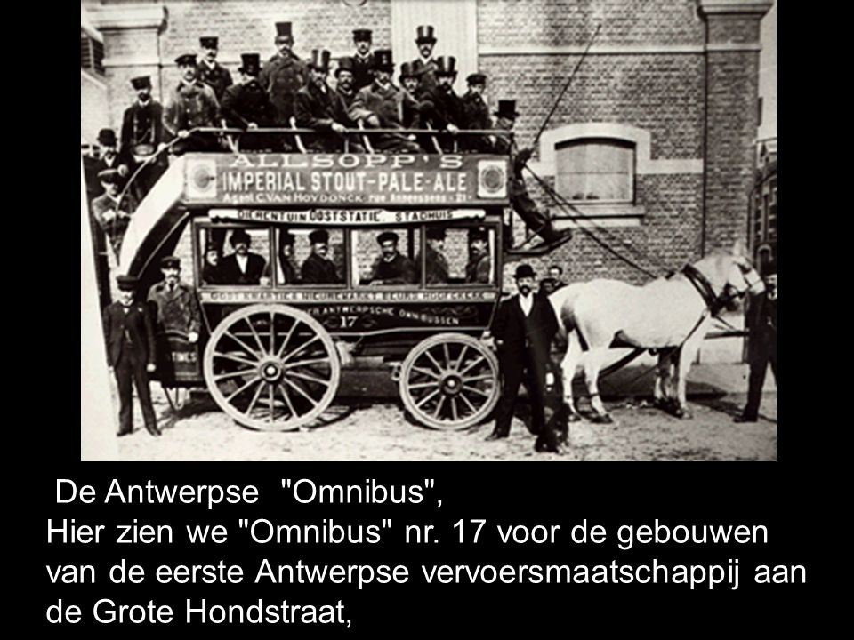 De Antwerpse Omnibus , Hier zien we Omnibus nr.