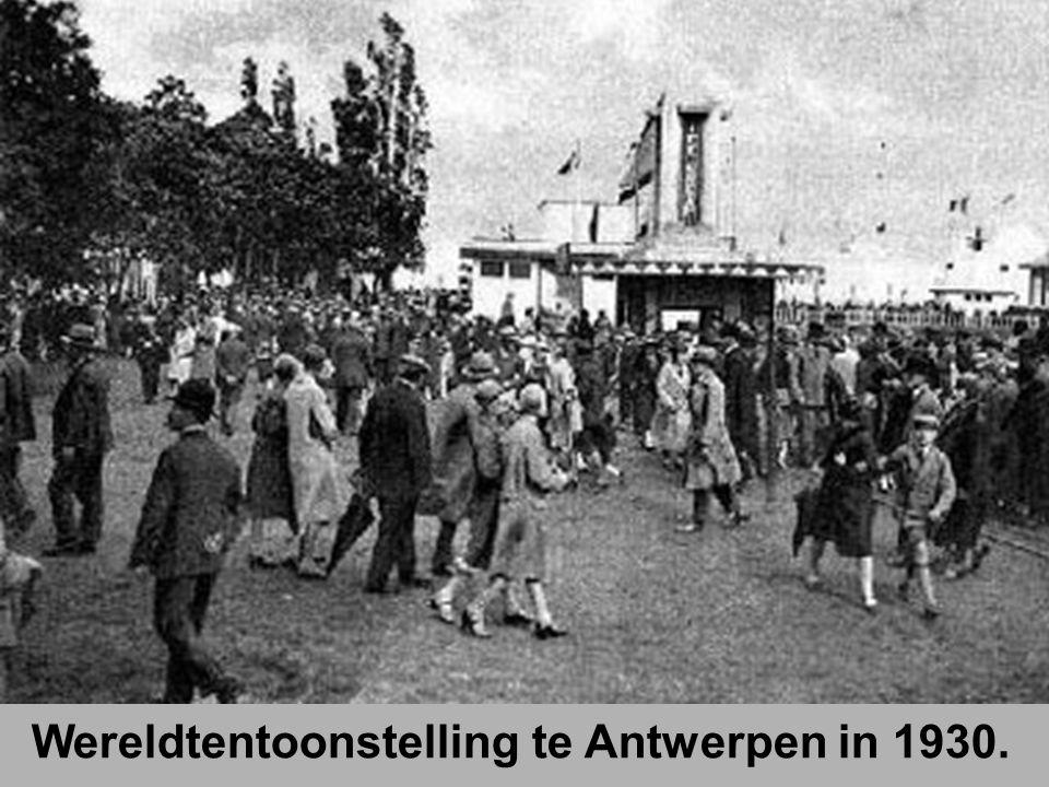 Wereldtentoonstelling te Antwerpen in 1930.