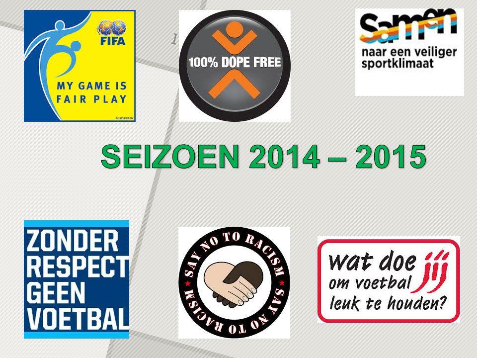 SEIZOEN 2014 – 2015