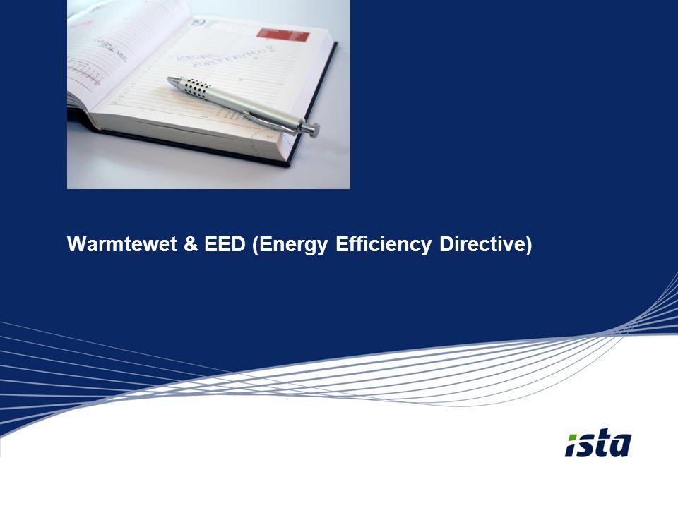 Warmtewet & EED (Energy Efficiency Directive)
