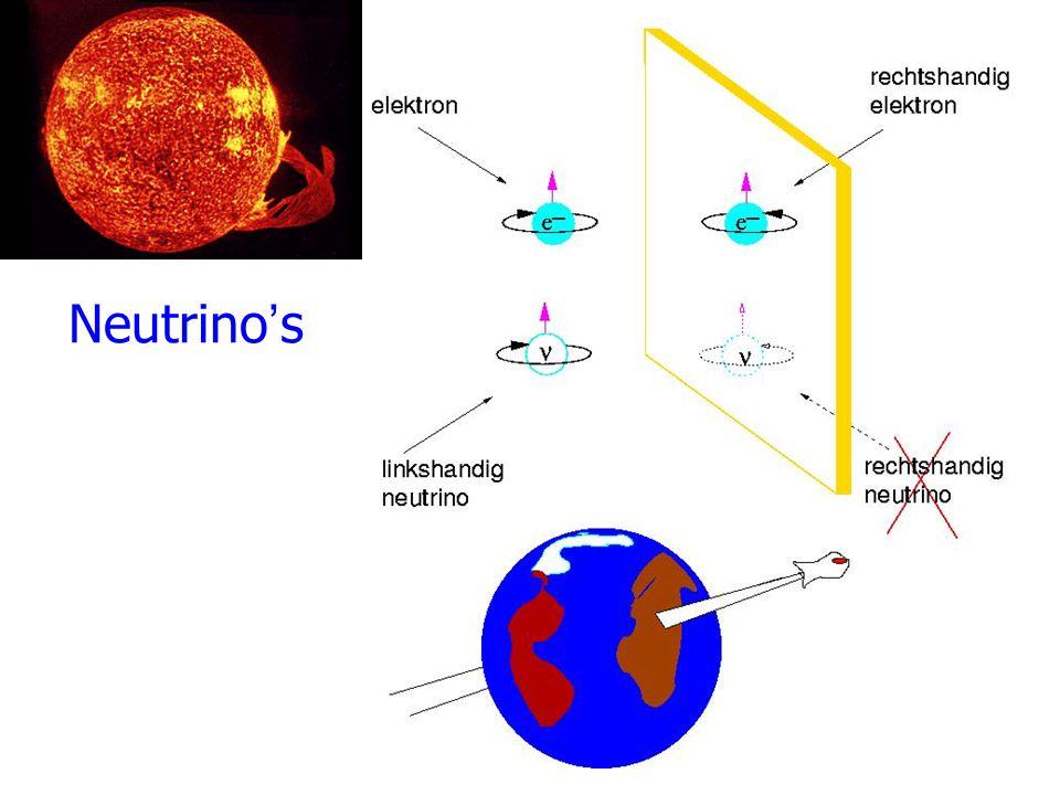 Neutrino's