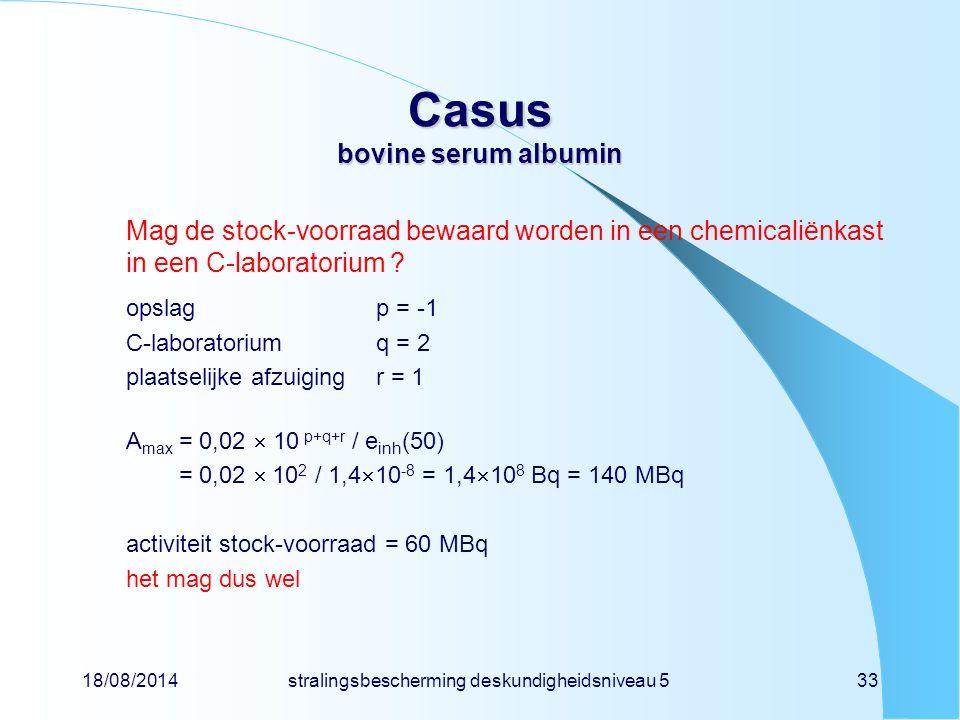 Casus bovine serum albumin