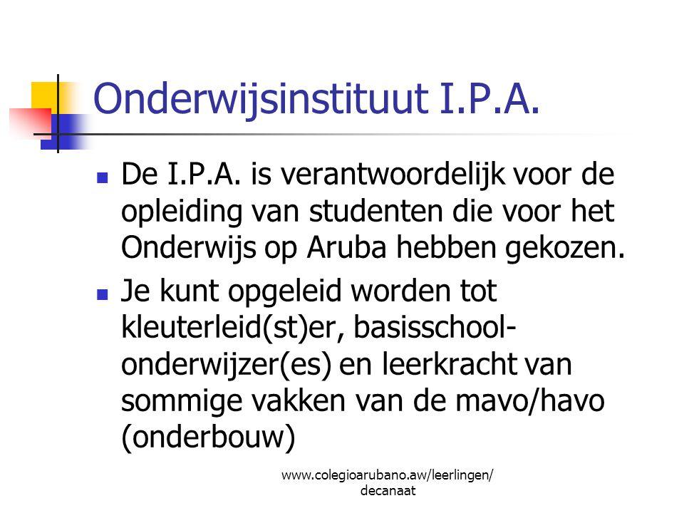 Onderwijsinstituut I.P.A.