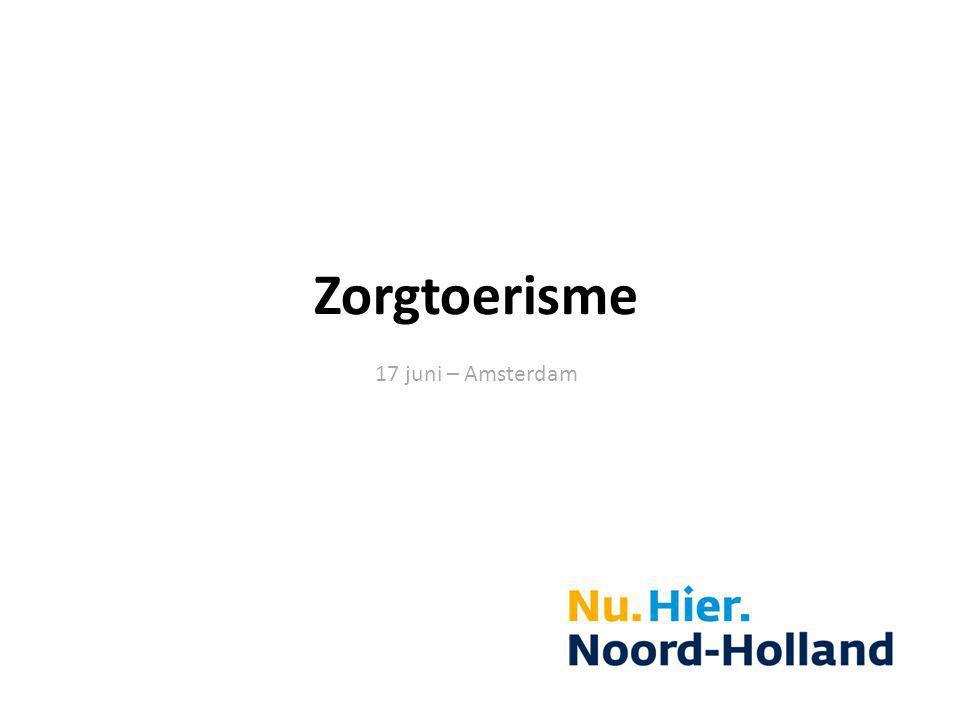 Zorgtoerisme 17 juni – Amsterdam