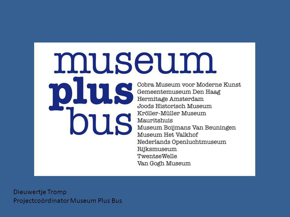 Dieuwertje Tromp Projectcoördinator Museum Plus Bus