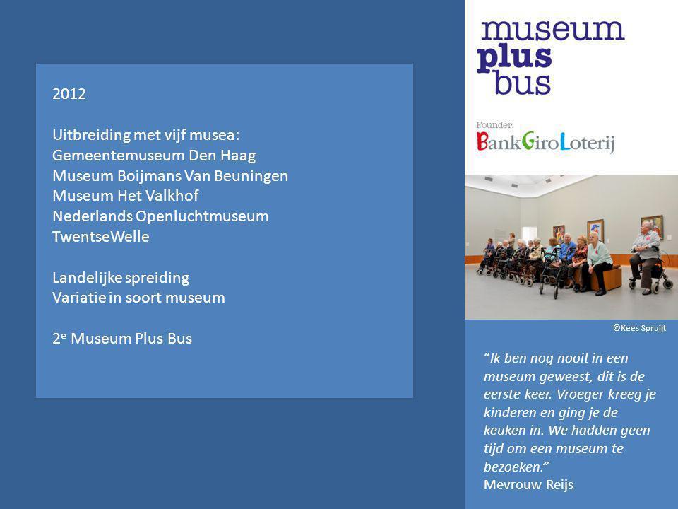 Uitbreiding met vijf musea: Gemeentemuseum Den Haag