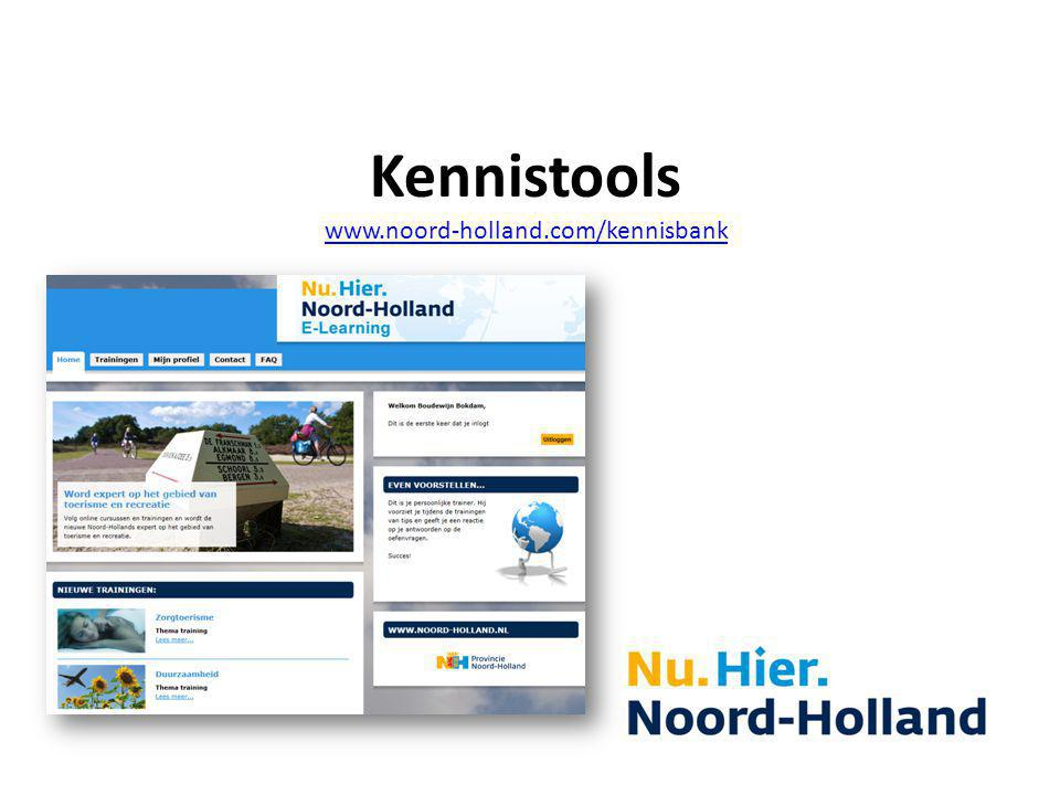 Kennistools www.noord-holland.com/kennisbank