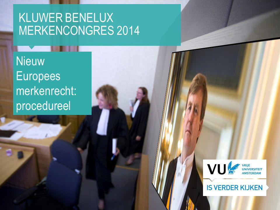 Kluwer Benelux Merkencongres 2014