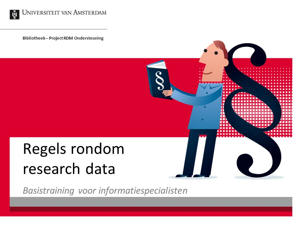 Regels rondom research data
