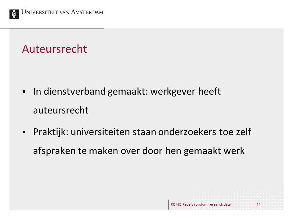 Auteursrecht In dienstverband gemaakt: werkgever heeft auteursrecht