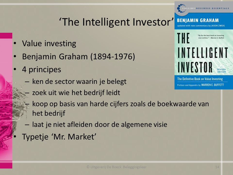 'The Intelligent Investor'
