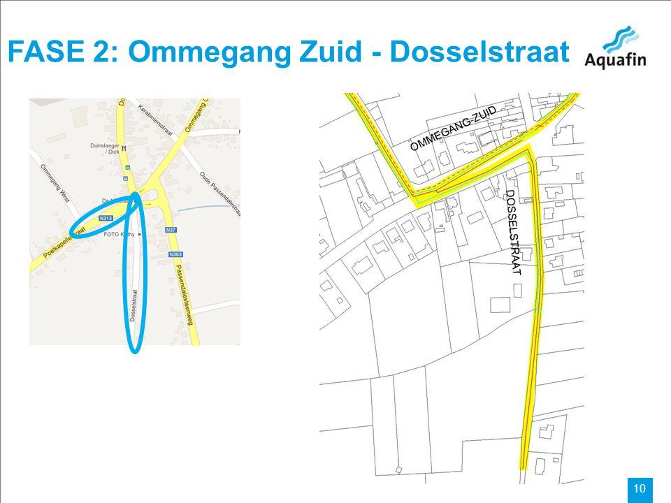 FASE 2: Ommegang Zuid - Dosselstraat