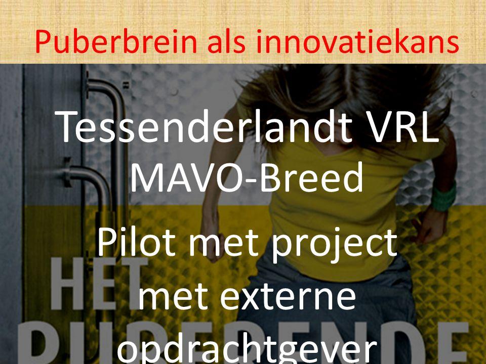 MAVO-Breed Pilot met project met externe opdrachtgever