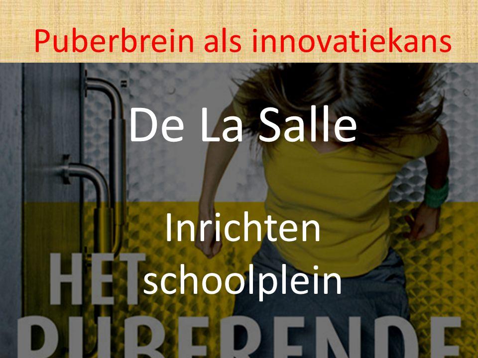 Inrichten schoolplein