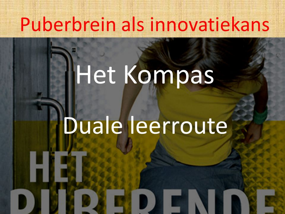 Puberbrein als innovatiekans