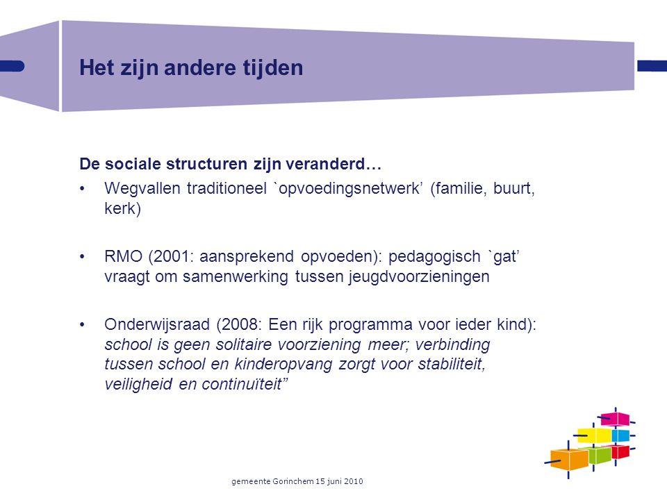 gemeente Gorinchem 15 juni 2010