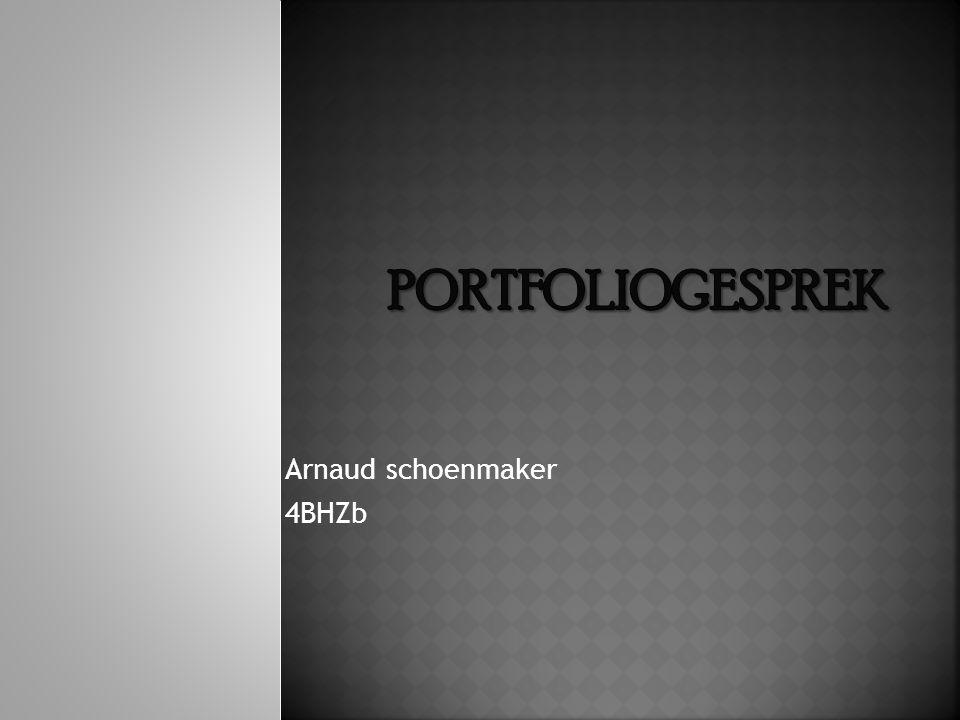 Arnaud schoenmaker 4BHZb
