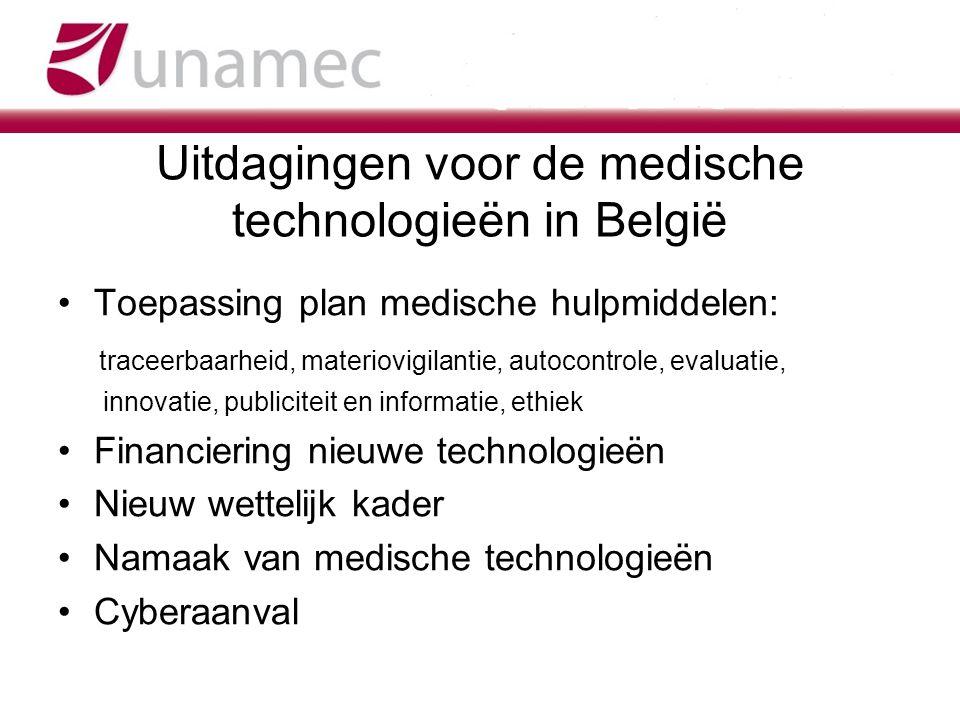 Uitdagingen voor de medische technologieën in België