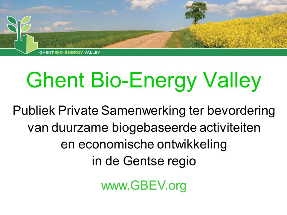 Ghent Bio-Energy Valley