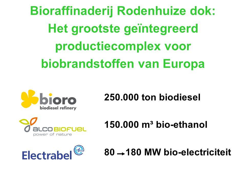 Bioraffinaderij Rodenhuize dok: Het grootste geïntegreerd productiecomplex voor biobrandstoffen van Europa