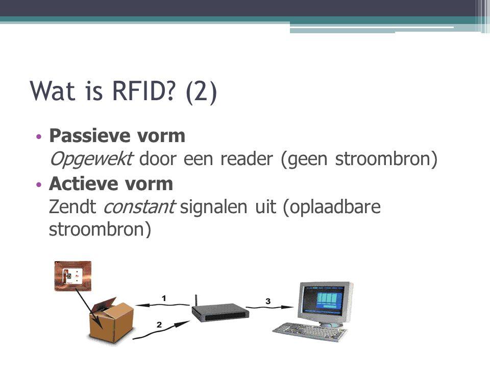 Wat is RFID.