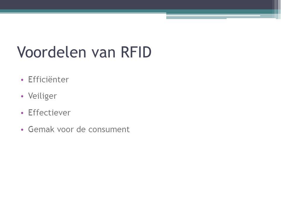 Voordelen van RFID Efficiënter Veiliger Effectiever