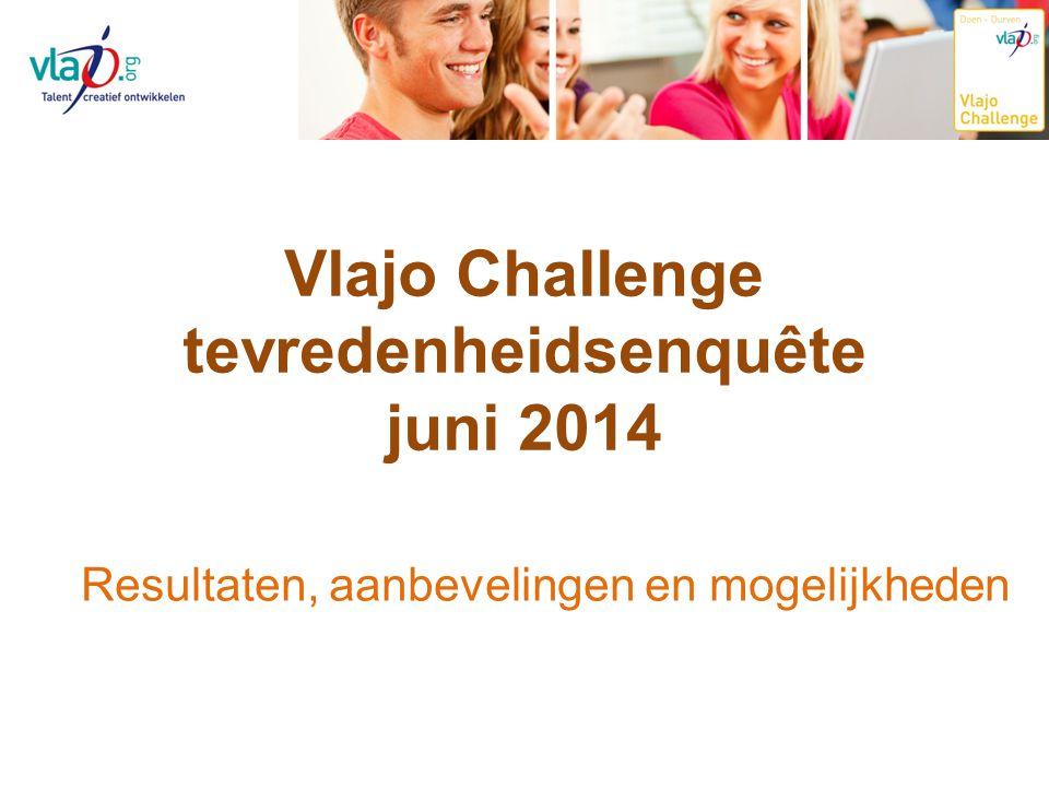 Vlajo Challenge tevredenheidsenquête juni 2014