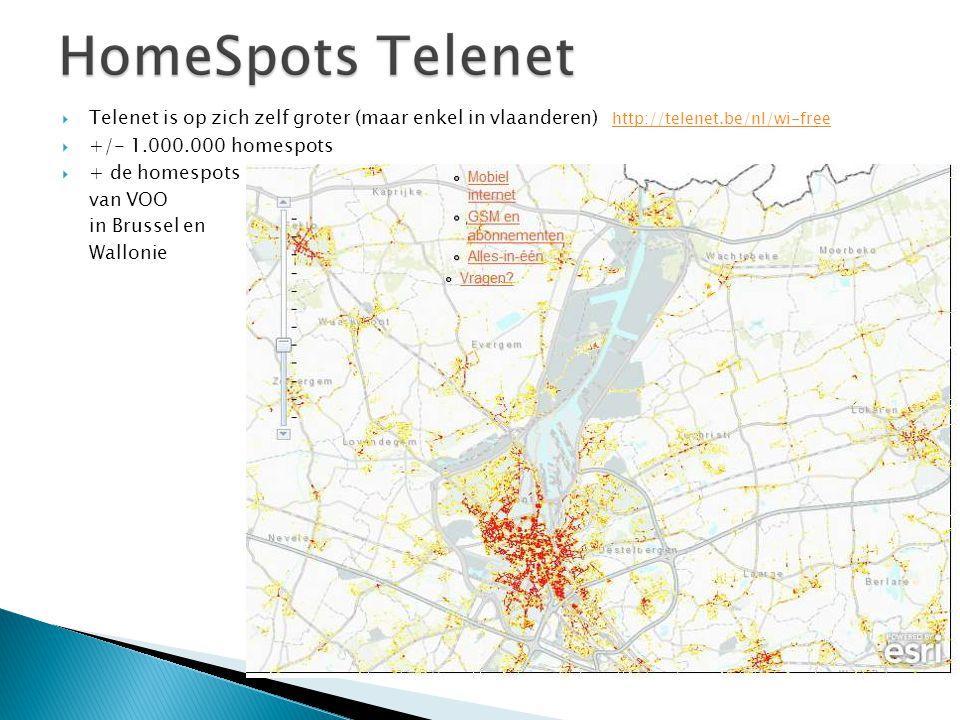 Telenet is op zich zelf groter (maar enkel in vlaanderen) http://telenet.be/nl/wi-free